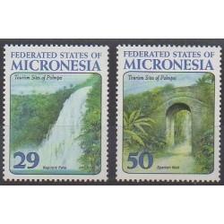 Micronesia - 1993 - Nb 250/251 - Sights