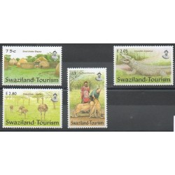 Swaziland - 2002 - No 704/707 - Animaux