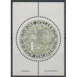 Nouvelle-Zélande - 1988 - No 1010 - Oiseaux