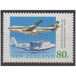 New Zealand - 1990 - Nb 1059 - Planes