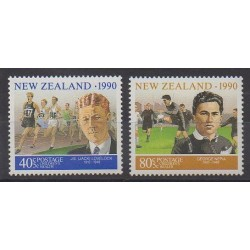 New Zealand - 1990 - Nb 1076/1077 - Various sports