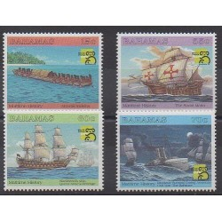 Bahamas - 1999 - Nb 971/974 - Boats - Philately