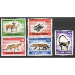 Gabon - 1970 - Nb 261/265 - Animals