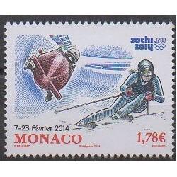 Monaco - 2014 - No 2911 - Jeux olympiques d'hiver