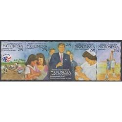 Micronésie - 1992 - No 194/198 - Enfance