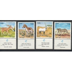 Israel - 1971 - Nb 432/435 - Animals