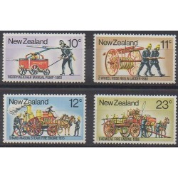 New Zealand - 1977 - Nb 702/705 - Firemen