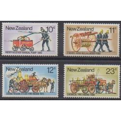 Nouvelle-Zélande - 1977 - No 702/705 - Pompiers