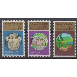 New Zealand - 1980 - Nb 778/780 - Christmas