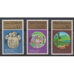 Nouvelle-Zélande - 1980 - No 778/780 - Noël
