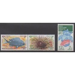 Nouvelle-Zélande - 1979 - No 746/748 - Animaux marins - Santé ou Croix-Rouge - Enfance