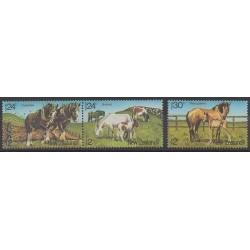 Nouvelle-Zélande - 1984 - No 876/878 - Chevaux