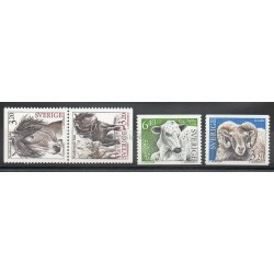Sweden - 1994 - Nb 1786/1789 - Animals