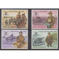 Nouvelle-Zélande - 1984 - No 882/885 - Histoire militaire