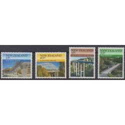 Nouvelle-Zélande - 1985 - No 897/900 - Ponts