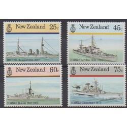 New Zealand - 1985 - Nb 909/912 - Boats