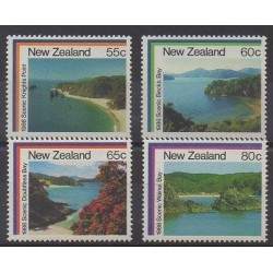 Nouvelle-Zélande - 1986 - No 928/931 - Sites