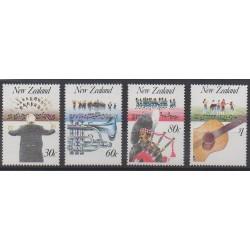Nouvelle-Zélande - 1986 - No 938/941 - Musique