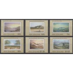 Nouvelle-Zélande - 1988 - No 1004/1009 - Peinture