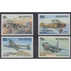 Bahamas - 1993 - No 787/790 - Aviation - Histoire militaire