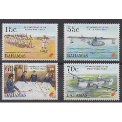 Bahamas - 1995 - No 847/850 - Seconde Guerre Mondiale