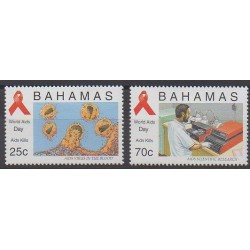 Bahamas - 1995 - No 872/873 - Santé ou Croix-Rouge