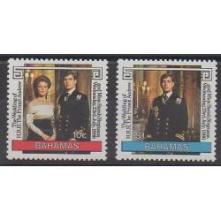 Bahamas - 1986 - No 600/601 - Royauté - Principauté