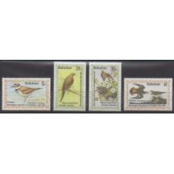 Bahamas - 1985 - No 571/574 - Oiseaux