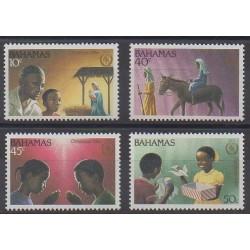 Bahamas - 1986 - No 619/622 - Noël - Enfance