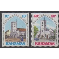 Bahamas - 1986 - No 617/618 - Églises
