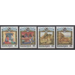 Bahamas - 1988 - No 655/658 - Christophe Colomb