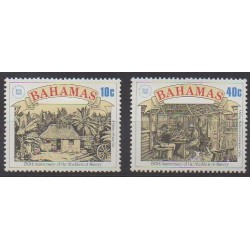 Bahamas - 1988 - Nb 663/664 - Human Rights