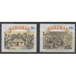 Bahamas - 1988 - No 663/664 - Droits de l'Homme