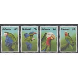 Bahamas - 1990 - Nb 725/728 - Birds