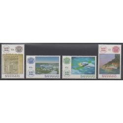 Bahamas - 1988 - Nb 673/676 - Various Historics Themes