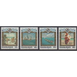 Bahamas - 1992 - Nb 768/771 - Christophe Colomb