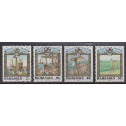Bahamas - 1990 - No 703/706 - Christophe Colomb