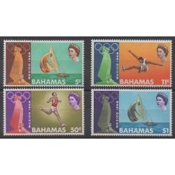 Bahamas - 1968 - No 265/268 - Jeux Olympiques d'été