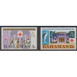 Bahamas - 1970 - No 296/297 - Santé ou Croix-Rouge