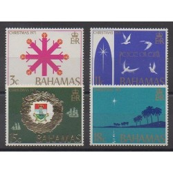 Bahamas - 1971 - Nb 320/323 - Christmas