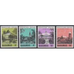 Bahamas - 1978 - No 418/421 - Architecture