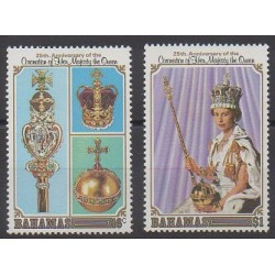 Bahamas - 1978 - Nb 422/423 - Royalty