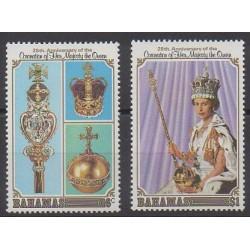 Bahamas - 1978 - No 422/423 - Royauté - Principauté