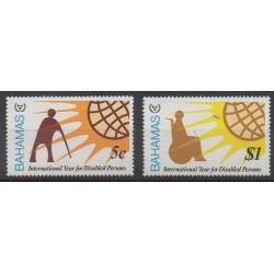 Bahamas - 1981 - No 472/473 - Santé ou Croix-Rouge