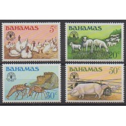Bahamas - 1981 - Nb 488/491 - Mamals