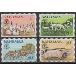 Bahamas - 1981 - No 488/491 - Mammifères