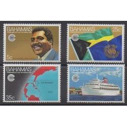 Bahamas - 1983 - No 528/531 - Histoire