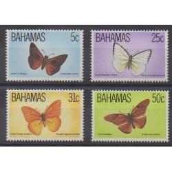 Bahamas - 1983 - No 539/542 - Insectes