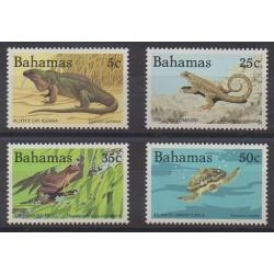Bahamas - 1984 - Nb 536F/536J - Reptils