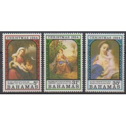 Bahamas - 1984 - No 564/566 - Noël
